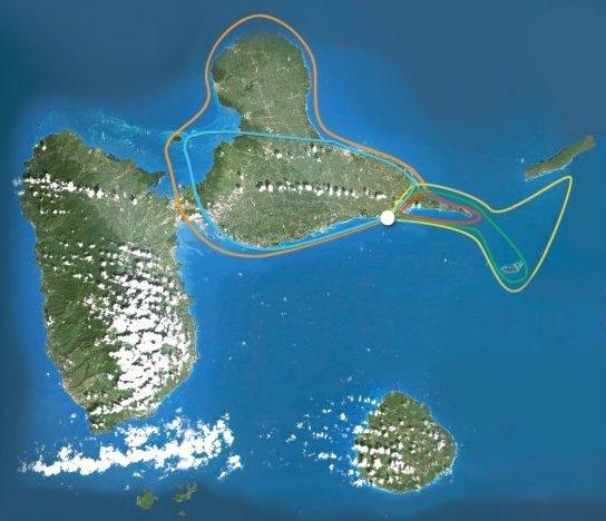 circuits vols touristiques ulm caraîbes guadeloupe